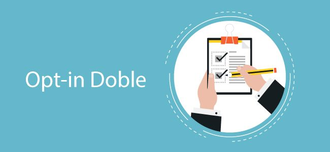 Opt-in doble