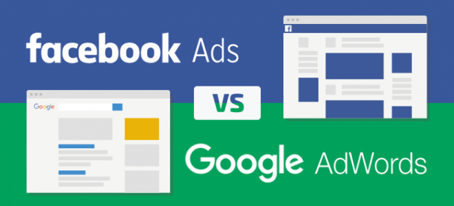 Facebook ads google adwords