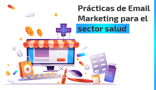 email marketing sector salud