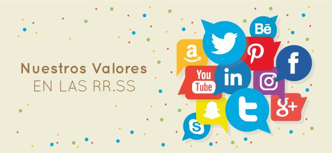 Nuestros valores en las Redes Sociales