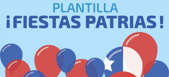 Plantilla html Fiestas Patrias