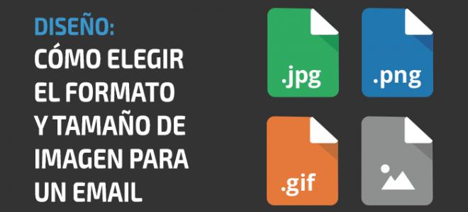 Cómo elegir el formato y tamaño de imagen para un email