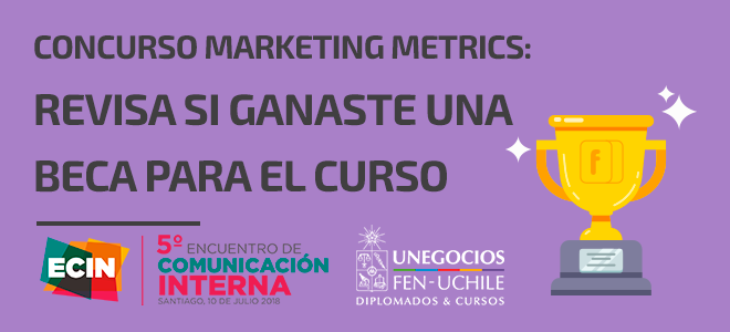 Resultados becas curso Marketing Metrics