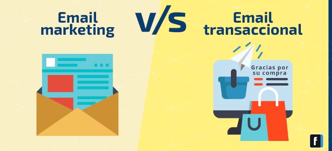 email marketing versus email transaccional