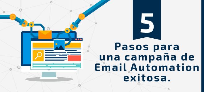 Pasos para campaña de email automation exitosa