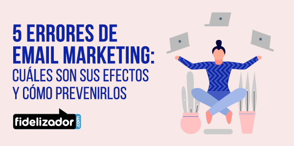 errores de Email Marketing