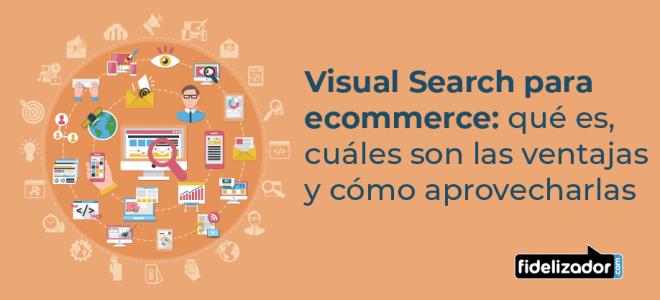 visual search qué es